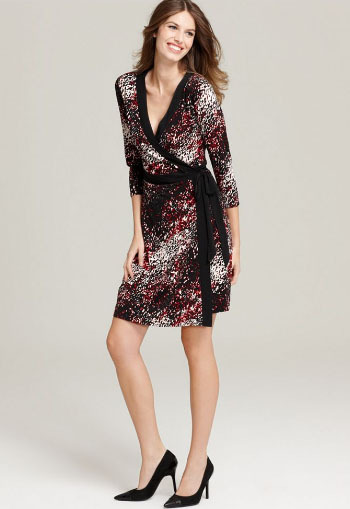 Style&co. Printed Wrap Dress