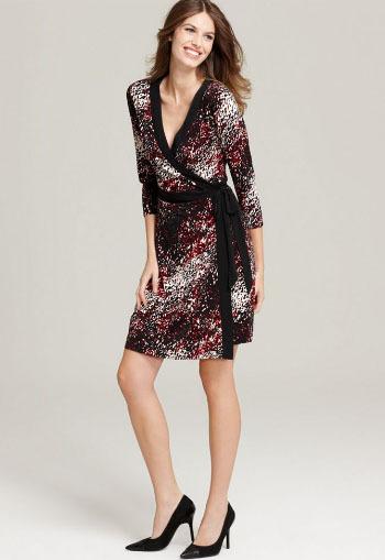 Style&co. Printed Wrap Dress