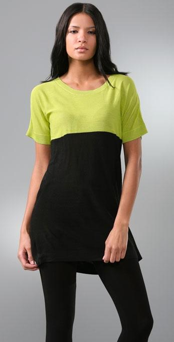 DKNY Colorblock Tunic