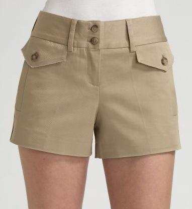 Dolce & Gabbana Stretch Cotton Shorts