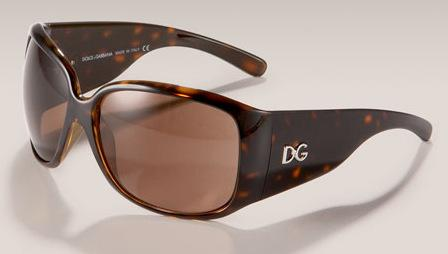 Dolce & Gabbana Thick Arm Sunglasses