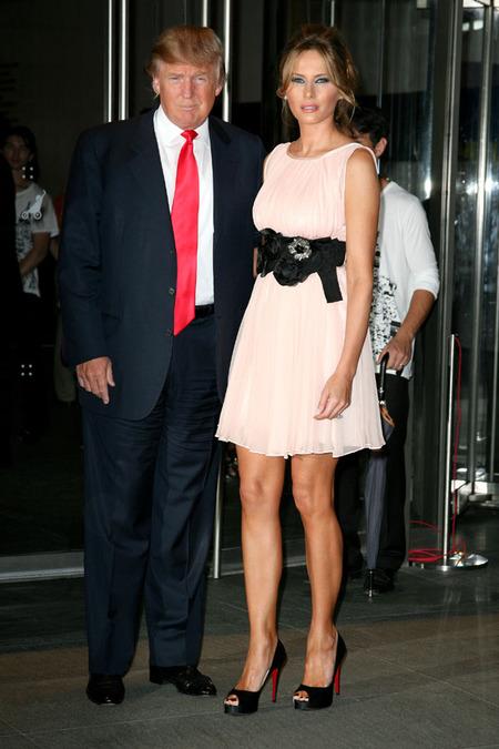 Donald Trump & Melania Knauss (2010)