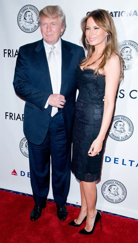 Donald Trump & Melania Knauss (2011)