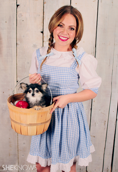 Halloween costume ideas: Dorothy from the Wizard of Oz