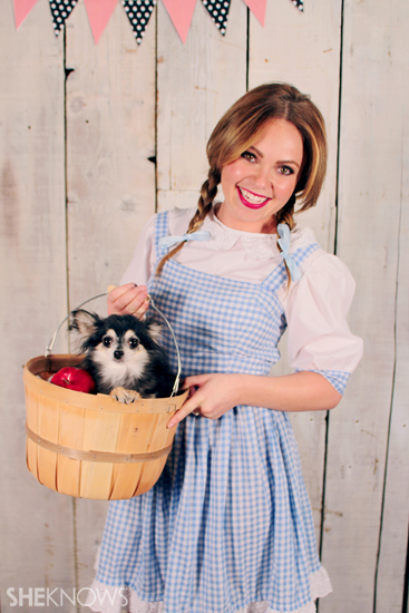Halloween costume ideas: Dorothy from Wizard of Oz