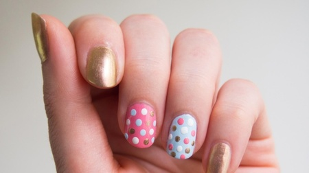 Easy-peasy polka dot designs