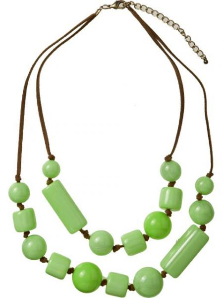 Double-Strand Chunky-Bead Necklace