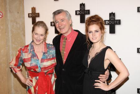Meryl Streep, John Patrick Shanley and Amy Adams