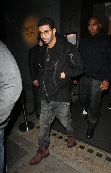 Drake at Nobu Berkeley in London, England