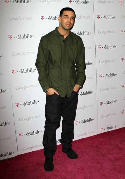 Drake at the Launch Party for Google Music Availabile on T-Mobile