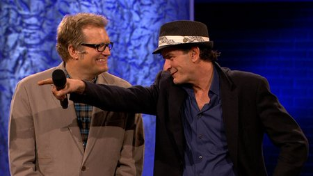 Drew Carey and Charlie Sheen