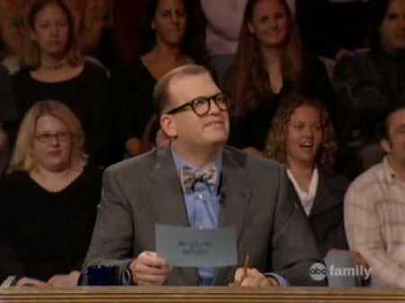 Drew Carey on Whose Line Is It Anyway?