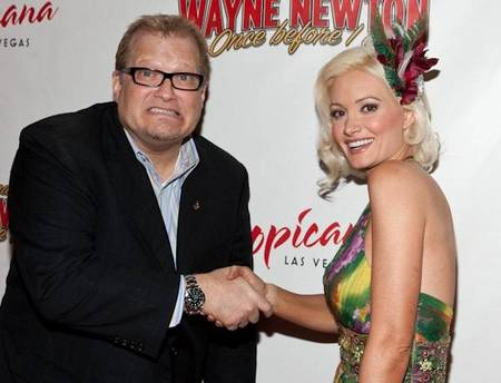 Drew Carey with Holly Madison