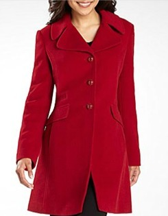 Bold Red City Coat