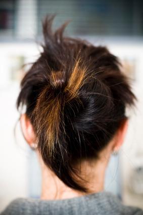Ponytail bun