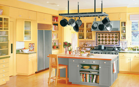Red, yellow & orange themes. Eating in Style - Kitchen