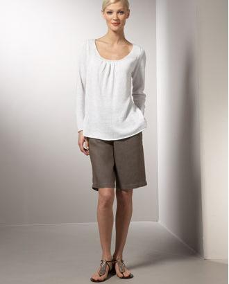 Eileen Fisher Linen Shorts