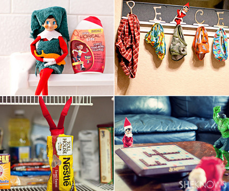 Elf on the Shelf inspiration photo gallery