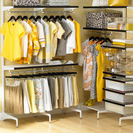 Freestanding Walk-In Closet