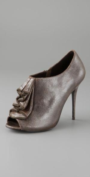 Elizabeth and James ruffle bootie