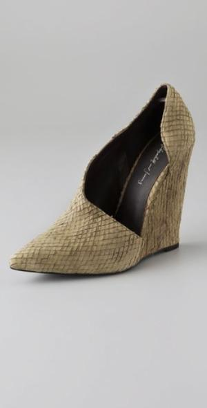 Elizabeth and James sidewedge bootie