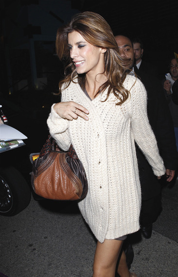 Elisabetta Canalis attends the DWTS after party