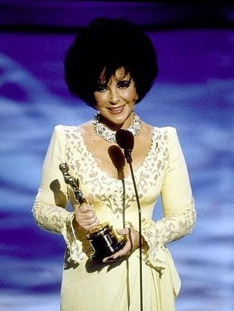 Elizabeth Taylor at the 65th Annual Academy Awards