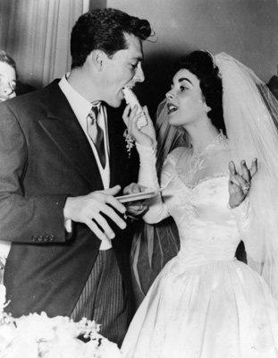 Elizabeth Taylor with Conrad Hilton