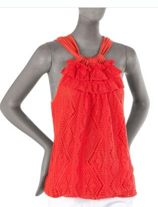 Ella Moss Crochet Tank