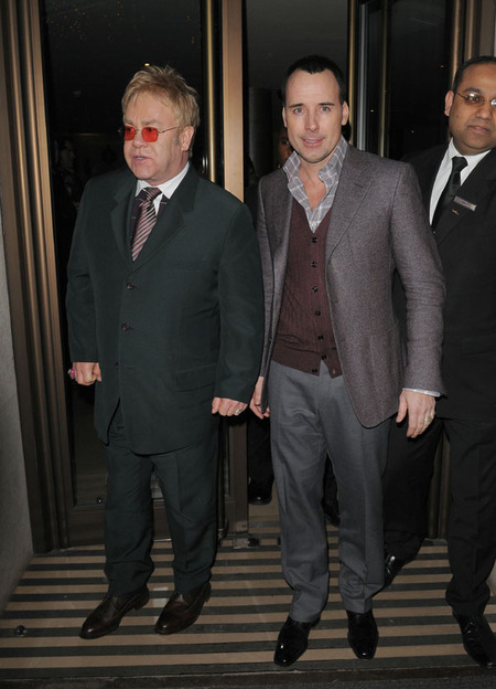 Elton John & David Furnish (2008)