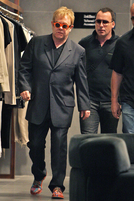 Elton John & David Furnish (2010)