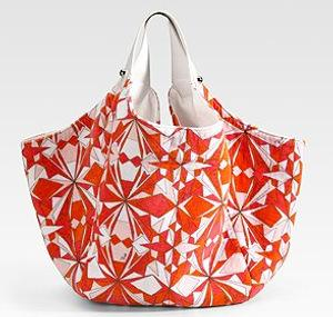 Emilio Pucci Ari Print Oversized Tote