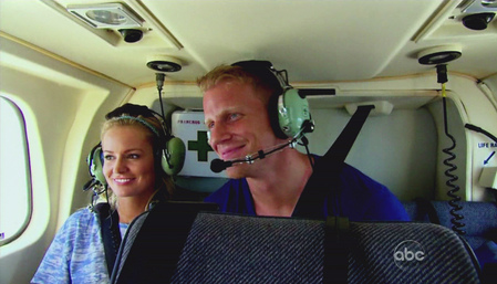 Emily's helicopter date