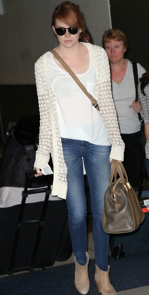 Emma Stone&#039;s airport style