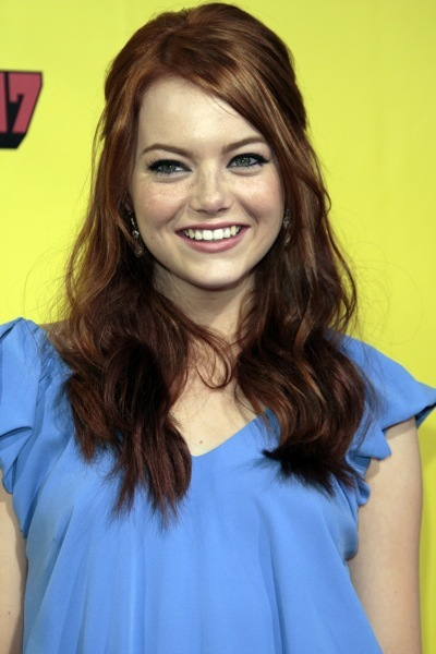 Emma Stone's classic hairstyle