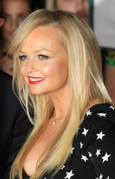 Emma Bunton's choppy lengthy locks