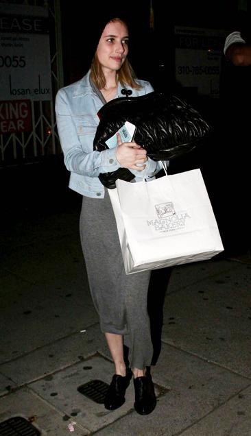 Emma Roberts leaving Matsuhisa
