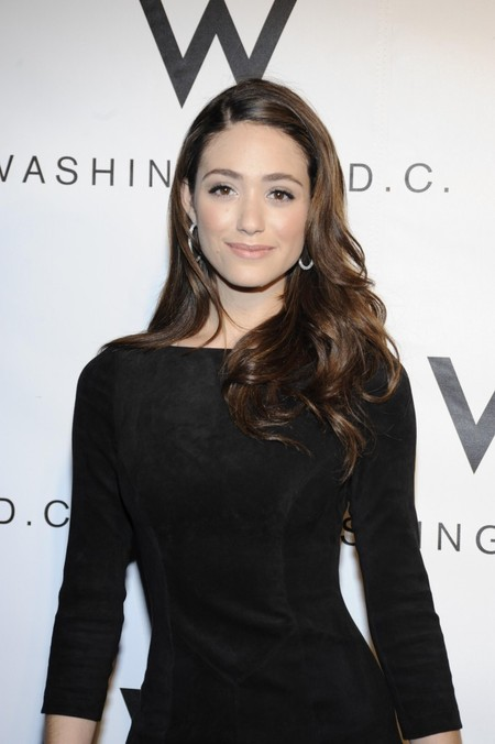 Emmy Rossum's Easy Chic Hair