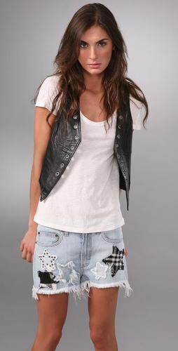 Erin Wasson X RVCA vest