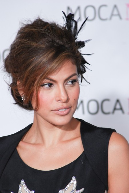 Eva Mendes Loves Hair Accessories