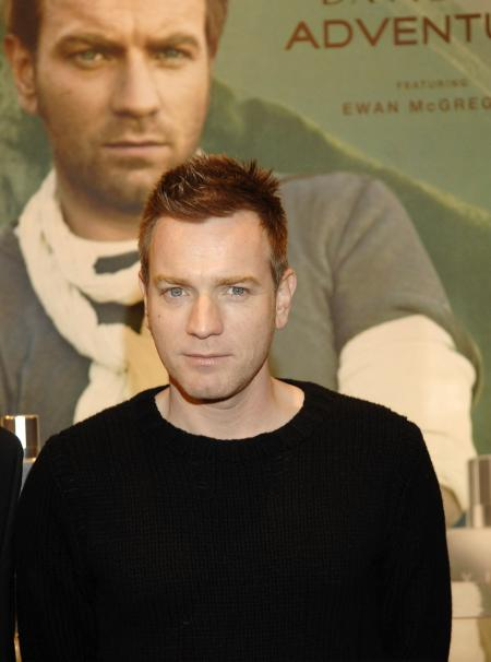 Ewan McGregor at the release for his new fragrance