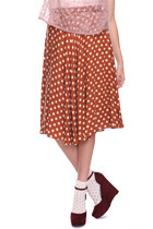Knee Length Polka Dots