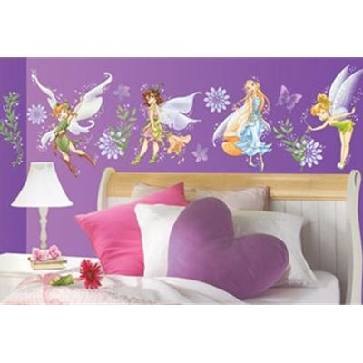 Tinkerbell & fairies wallpaper border
