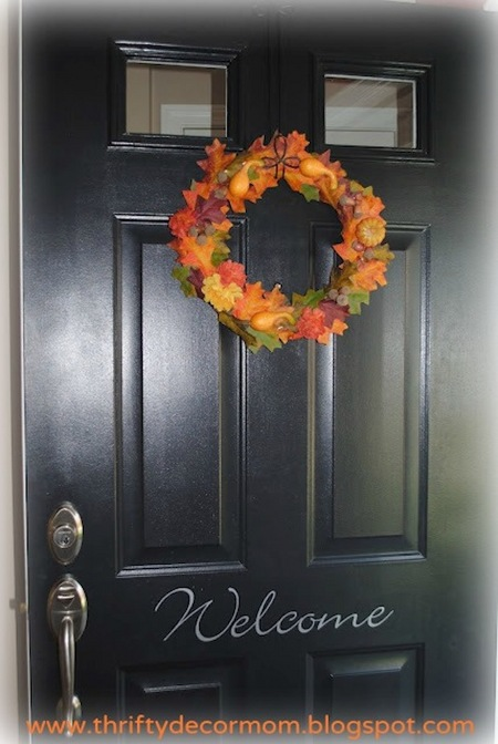 Fabulous fall wreath