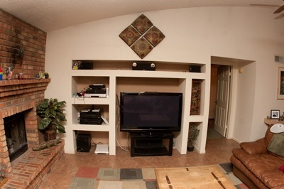 Family room before view 1