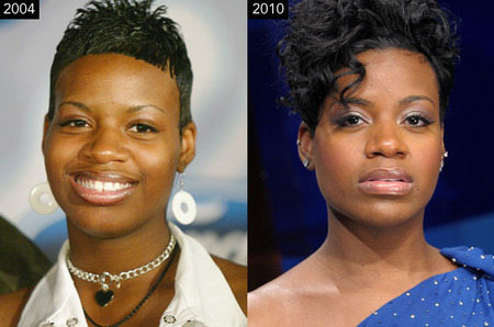 Fantasia Barrino Then and Now
