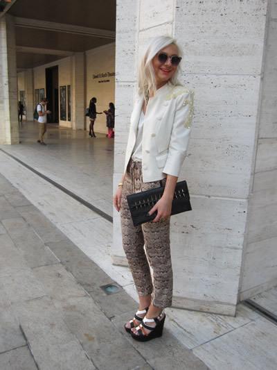 Street fashionistas