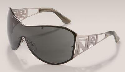 Fendi Metal Shield Sunglassses