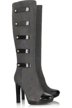 Fendi multistrap buckle boots