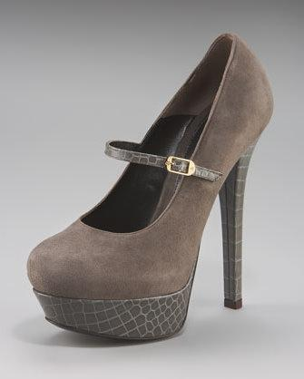 Fendi platform Mary Janes
